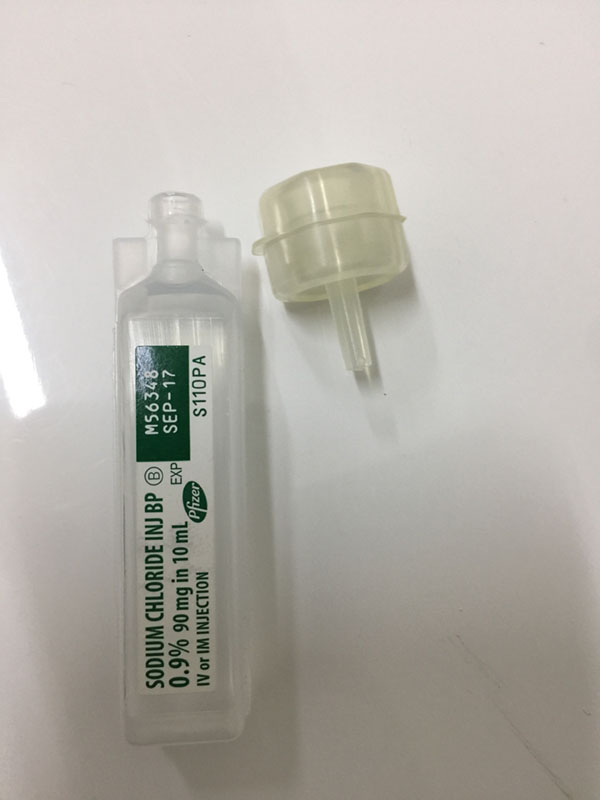 needle free injection adapter