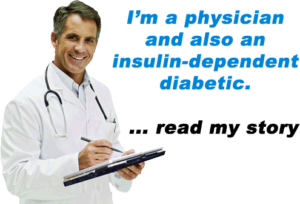 doctor with diabetes