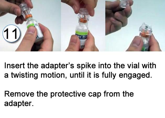 needle free instructions